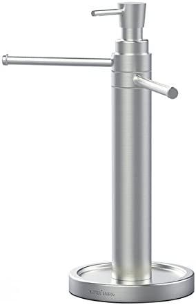 Better Living Products 70899 Handi Hand Washing Valet Soap Dispenser and Vanity Towel Stand product image