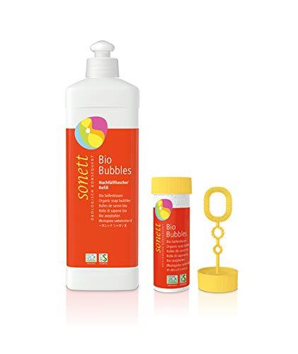 Bio Seifenblasen Sonett, SET 45ml + 500ml Nachfüllung