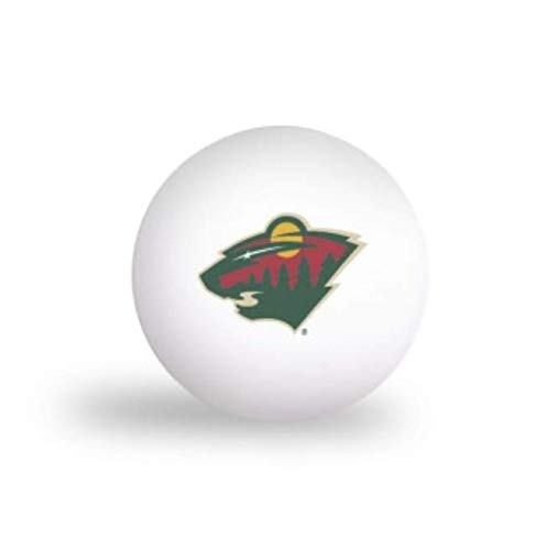 Great Price! NHL Minnesota Wild 6 Pack Ping Pong Balls