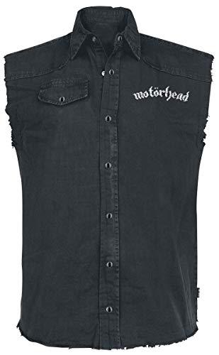 Motörhead England Männer Kurzarmhemd schwarz XL 100% Baumwolle Band-Merch, Bands