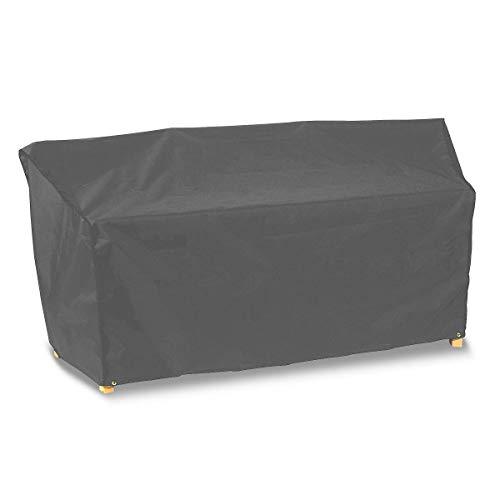 Premier Range Schutzhülle für 2er-Sitz mit Verbindungstisch, grau, 184 x 60 x 81 cm, NP056