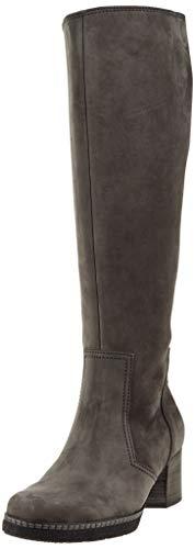 Gabor Shoes Damen Comfort Basic Hohe Stiefel, Grau (Dkgrey(S.S/A.F/Mi) 31), 38 EU