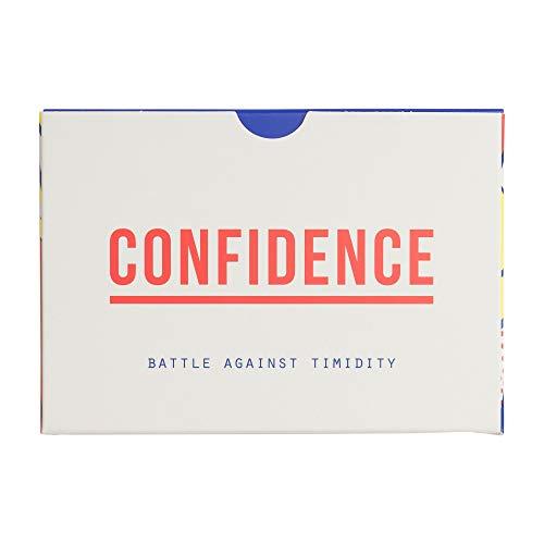 The School of Life | CONFIDENCE | KARTENSET zum Aufbau von Selbstvertrauen und Überwinden von Schüchternheit | englischsprachige Ausgabe