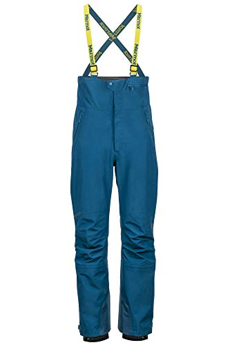 Marmot Spire Bib Bas Homme, Bleu marocain, XXL