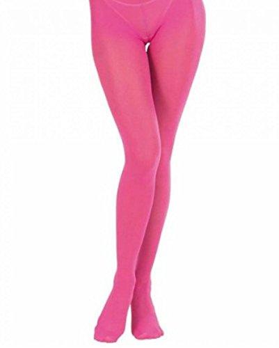 Horror-Shop Pinke Strumpfhose als Kostüm-Accessoires für Bad-Taste & 80s Mottopartys