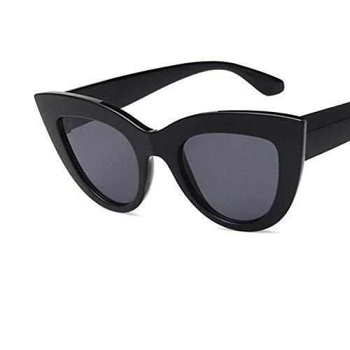 Único Gafas de Sol Sunglasses Nuevas Gafas De Sol con Forma De Ojo De Gato para Mujer, Diseño Vintage para Mujer, Lentes