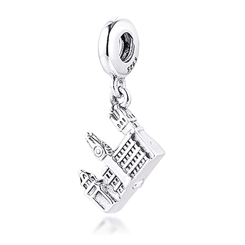 BAKCCI 2020 Estate Praga Ponte Carlo Ciondolo Ciondolo in argento 925 DIY Adatto per braccialetti Pandora Originali Gioielli Moda