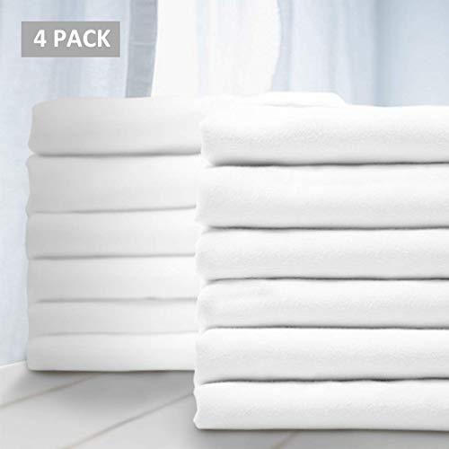 Balichun Premium Queen Pillowcases 24 Pack - Standard White - 1800 Thread Count - Soft Brushed Microfiber Hypoallergenic - Wrinkle Resistant - Tailoring Iron - Bulk Pillowcase Set of 24,2 Dozens