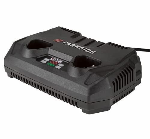 PARKSIDE® Ladegerät »PDSLG 12 A1«, 150 Watt, zum Laden von 2 Akkus, kompaktes Gehäuse