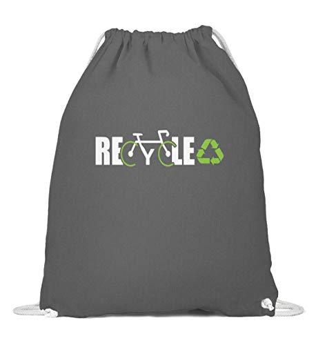 Bolsa de deporte reciclada, protección climática para bicicleta, declaración de medio ambiente