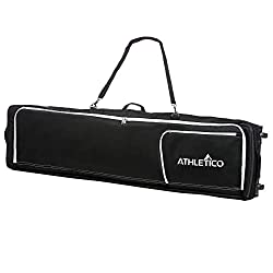 Best Choice for Best Wheeled Snowboard Bag: Athetico Conquest Padded Snowboard Bag With Wheels