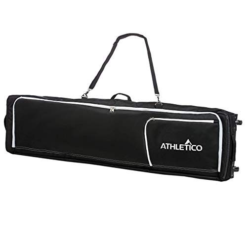 Athletico Conquest Padded Snowboard Bag with Wheels - Travel Bag for Single Snowboard and Snowboard...