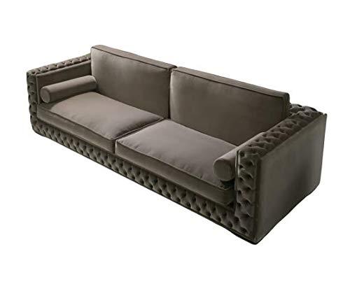 Home Plus Lifestyle Sofa Set for Living Room (Colour-Grey)