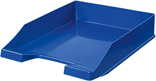 HAN 1027-X Briefablage KLASSIK, DIN A4/C4, stapelbar, stabil, modern (10er Pack   blau)