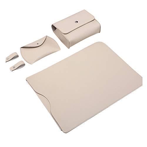 13 Pulgadas Funda Protectora Ordenador Portátil Maletín de Bolsa Compatible con 2018 MacBook Air 13/MacBook Pro 13 2016-2018/Dell XPS 13/Surface Pro 6 5 4,Traje De Albaricoque,PRO 13