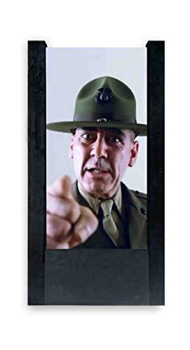 lámpara de mesa negra sargento Hartman–Full metaljacket