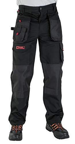 Black Hammer Multi -Taschen Cargo Hose, Schwarz, Gr.- 40W / 31L