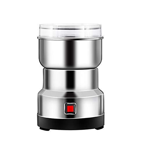 QHGao Kleine Superfeine Edelstahlschleifmaschine, Haushaltselektrisches Getreide Getreidegewürze Gewürze Fräsmaschinenschleifmaschine Für Den Täglichen Gebrauch