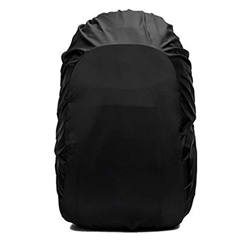 Frelaxy リュックカバー レインカバー 2倍以上の防水性 8色 5サイズ (S, 黒)