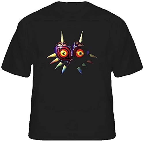WFYY The Legend of Zelda Majoras Mask Retro T Shirt