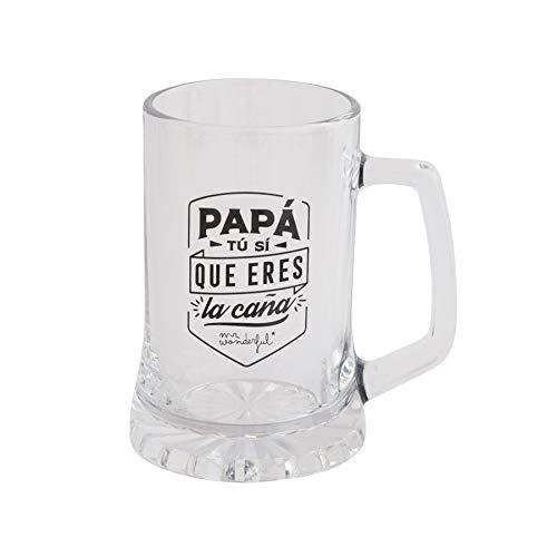 Mr. Wonderful Jarra de Cerveza, Multicolor, Única