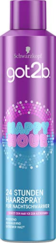 Schwarzkopf got2b Haarspray Happy Hour Styling, 1er Pack (1 x 300 ml)