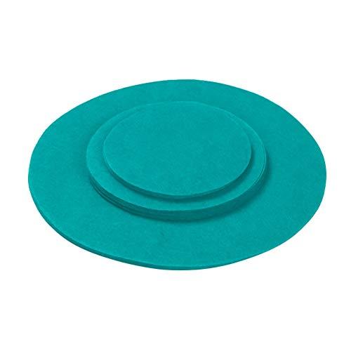 YeongShe - Protectores de almacenamiento antiadherentes para utensilios de cocina, separador de utensilios de cocina