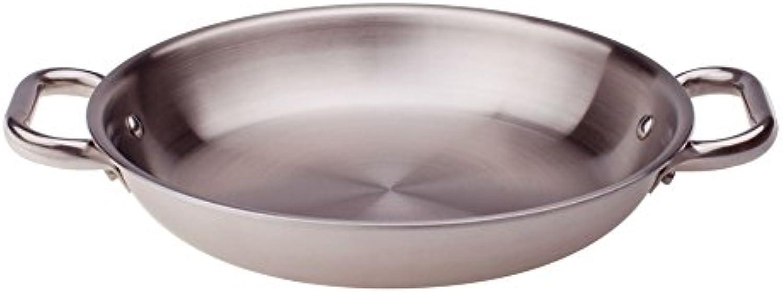 gran descuento Ollas Pan Agnelli Aluinox con Dos Asas, de de de Acero Inoxidable, gris, 28 cm  Ahorre hasta un 70% de descuento.