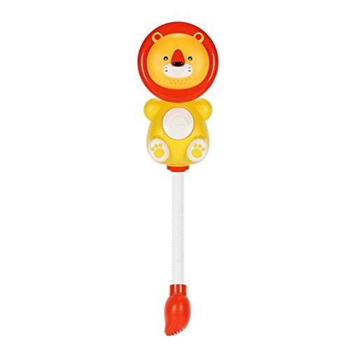 BovoYa Badespielzeug für Babys, Kinder Cartoon Löwe Badewanne Duschen Spielzeug Wasserspielspielzeug Sauger Sprühspiele Für Kinder Baby