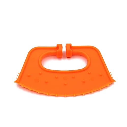 CML 10/20pcs Vieh-Vieh-Rinder-Bullen-Nase Kalb Weaner Milch saugen Horner Wadennase Ring Rindernase Dorn-Rinder-Fütterungsgeräte (Color : Orange, Size : 10 Pcs)