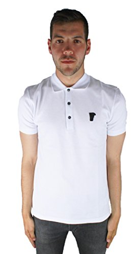 Versace Collection V800499S VJ00068 V1001 White V1001 Herren Polo Shirt wei�