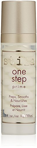 stila One Step Prime, Nourishing Matte Face Primer-Paraben & Cruelty-Free, 1 Fl Oz