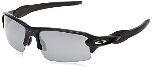 Oakley Herren Sonnenbrille Flak 2, Schwarz (Matte Black), 59