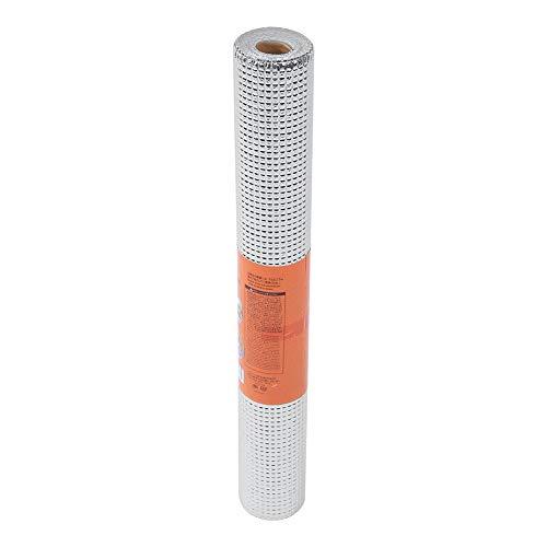 Vobor kasten vochtige proof mat papier, aluminium keukenfolie warmte-isolatie Membraan voor koffers kasten bedden open haarden lades 45 * 200 cm