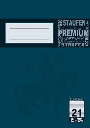 Staufen Briefblock liniert DIN A4 50Blatt