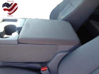 Car Console Covers Plus Made in USA Neoprene Center Armrest Console Cover fits...