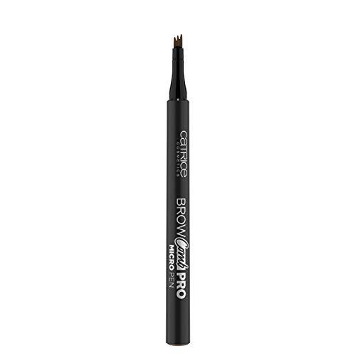 Catrice Brow Comb Pro Micro Pen, Nr. 040 Dark Brown, braun, definierend, langanhaltend, sofortiges Ergebnis, natürlich, matt, vegan, ohne Parfüm, ölfrei (1,1ml)