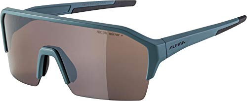 ALPINA Unisex - Erwachsene, RAM HR Q-LITE Sportbrille, dirtblue matt, One Size