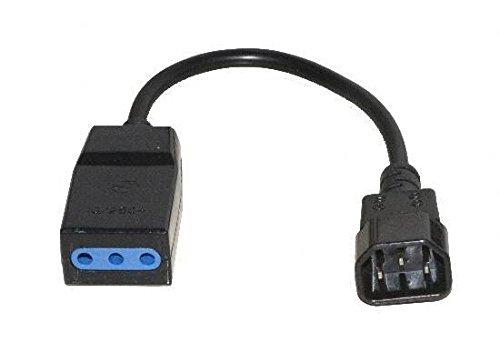 LINK LK10058 Cavo per Gruppi di continuità con 1 Femmina Tripolare 10A - 1 Connettore Maschio C14