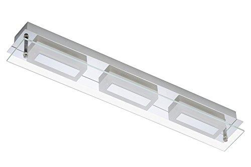 """Trango TG2262-038 Design LED Wandleuchte Badlampe Deckenlampe Flurleuchte\""""Oktober\"""" inkl. LED Leuchmittel"""