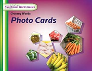 Edmark Reading Program Functional Words Series – Second Edition: Grocery Words, Photo Cards