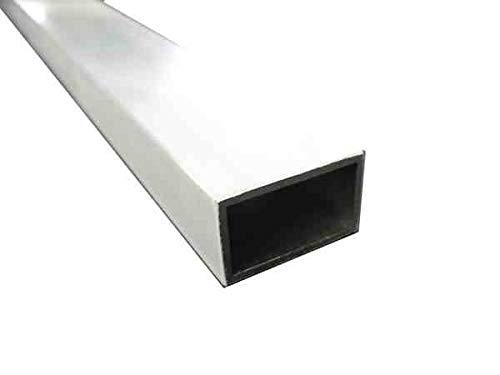 アルミ角パイプ 20ミリ×40ミリ×肉厚2.0ミリ 長さは1センチ単位で自由カット (11-20センチ)