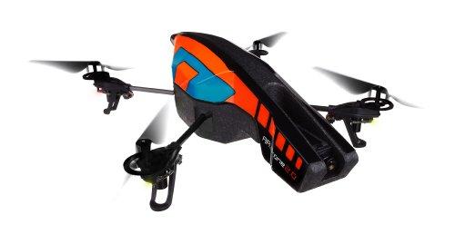 Parrot AR.Drone 2.0 Power Edition Quadricopter (Orange/Blue)