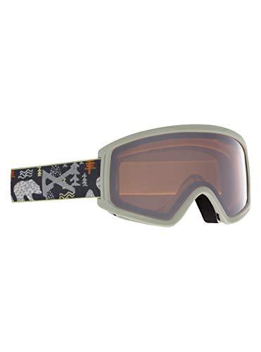 Anon Unisex Jugend Tracker 2.0 Snowboard Brille, Polar Bear Gray/Silver Amber
