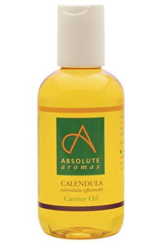 Absolute Aromas Aceite Infusionado de Calendula 50ml - Calendula Infusionada en Aceite de Sesamo Puro, Natural - Humectante Natural y Aceite para Masajes para la Piel, Cabello y Unas