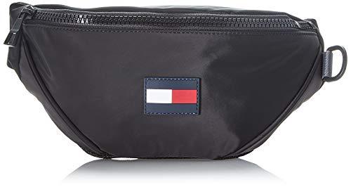Tommy Hilfiger Herren Tommy Crossbody Business Tasche, Schwarz (Black), 1x1x1 cm