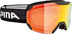 Alpina Sports Unisex - Adult PHEOS R Scratch Goggles, Black, One Size