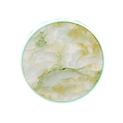 Exceart Kontaktlinsen-Reiseset Marmormuster Kontaktlinsenbehälter Behälterhalter mit Pinzette Und Lösungsflaschenspiegel für Frauen Mädchen
