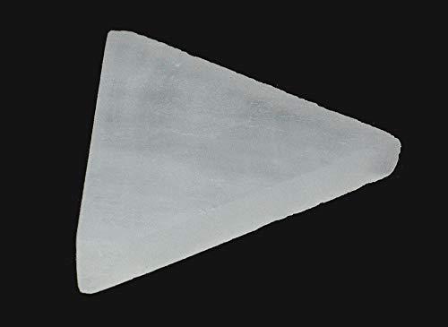 Cleopatra Selenite Charging Plate Triangle 7cm
