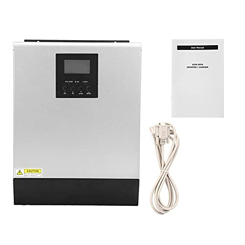 Inversor solar fotovoltaico 3KVA 2400W Cargador multifuncional MPPT para batería de electrodomésticos(25A, 10)